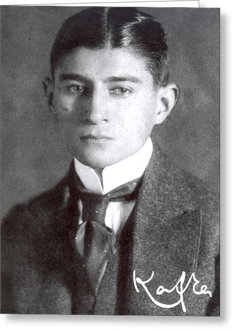 Franz Kafka (1883-1924) Greeting Card
