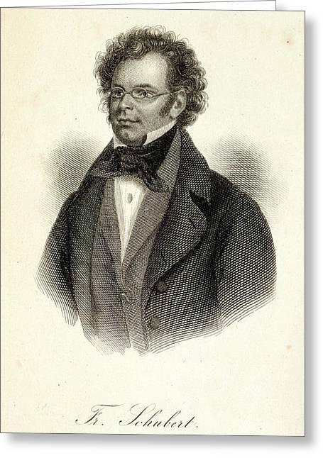 Franz Schubert Greeting Card by British Library