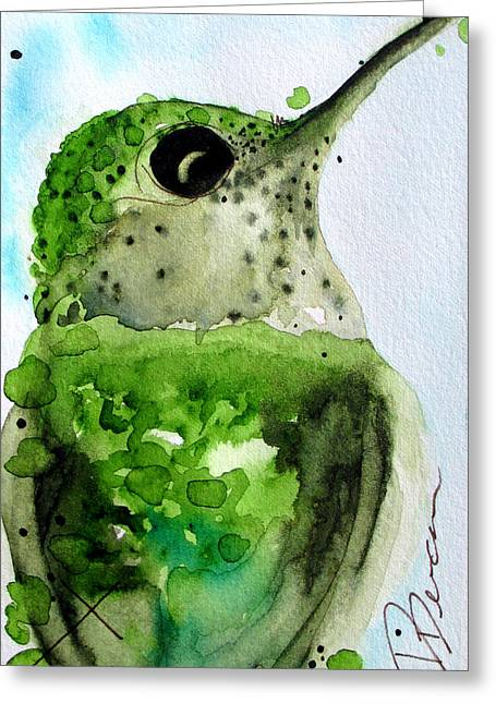 Freckles Greeting Card by Dawn Derman