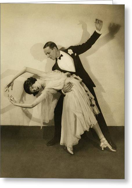 Fred Astaire Greeting Card by Edward Steichen