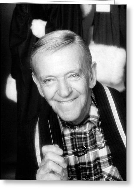 Fred Astaire In The Man In The Santa Claus Suit  Greeting Card by Silver Screen