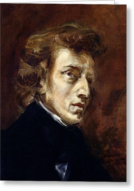 Frederic Chopin  Greeting Card