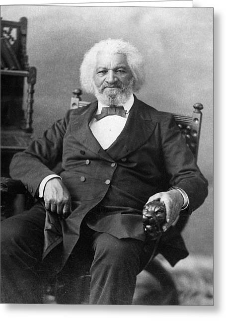 Frederick Douglass(c1817-1895) Greeting Card by Granger
