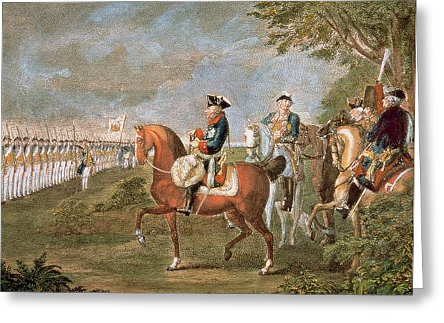 Frederick II The Great (1712-1786 Greeting Card