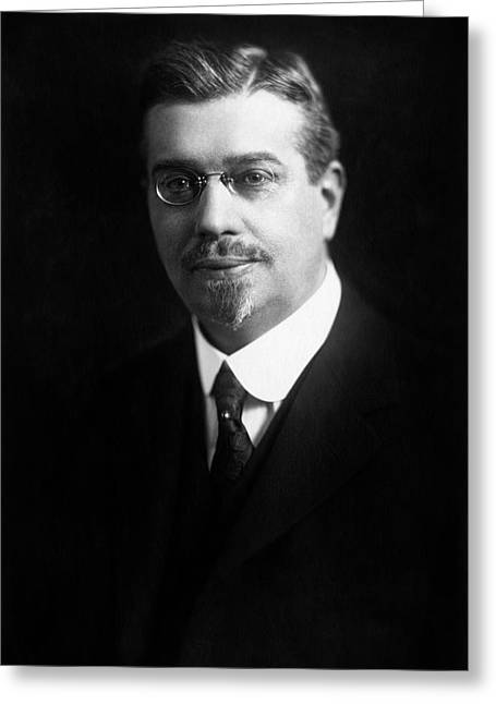Frederick W. Zerban Greeting Card by Williams Haynes Portrait Collection, Chemists� Club Archives/chemical Heritage Foundation