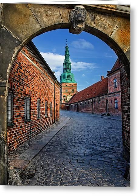 Frederiksborg Castle Hillerod Denmark Greeting Card by Carol Japp