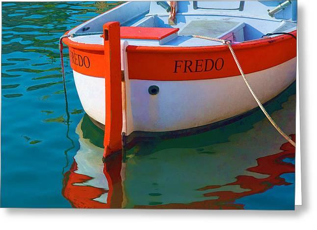 Fredo Greeting Card