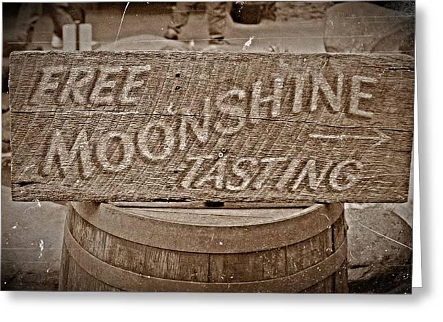 Free Moonshine Greeting Card