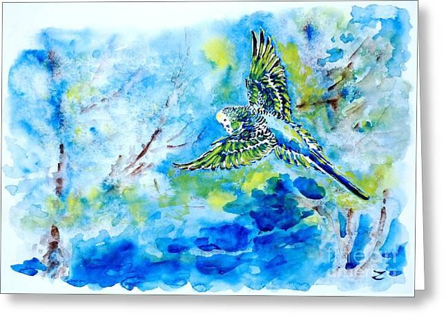 Free Greeting Card by Zaira Dzhaubaeva