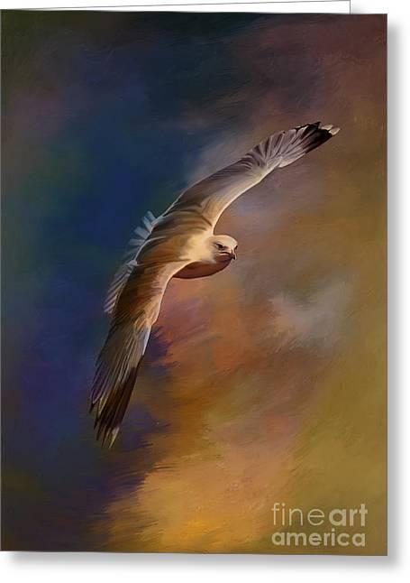 Freedom....  Greeting Card by Andrzej Szczerski