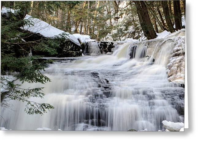 Freedom Falls Winter Greeting Card
