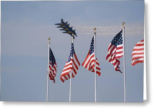 Freedom Flying Greeting Card