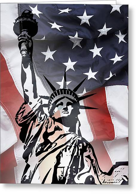 Freedom For Citizens Greeting Card