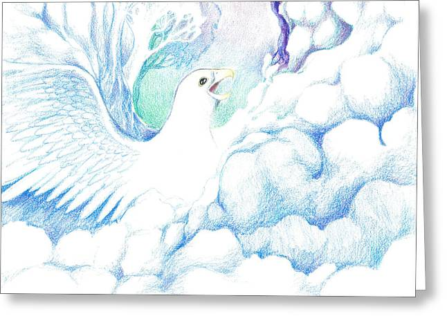 Freedom Oneness Art Greeting Card