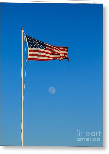 Freedom Greeting Card by Robert Bales