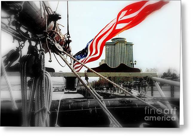 Freedom Sails Greeting Card