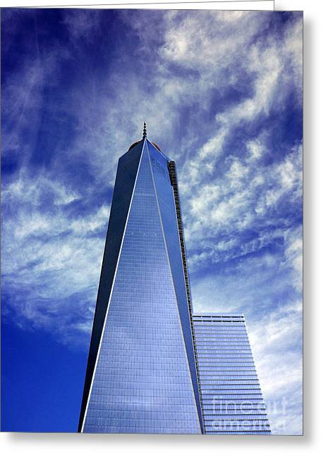 Greeting Card featuring the photograph Freedom Tower - New York City by Rafael Quirindongo