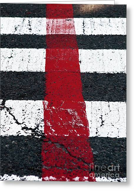 Freedom Trail Greeting Card by John Rizzuto