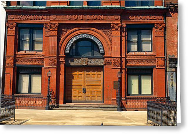 Freemasons Hall, Factors Walk Greeting Card