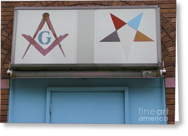 Freemasons Greeting Card