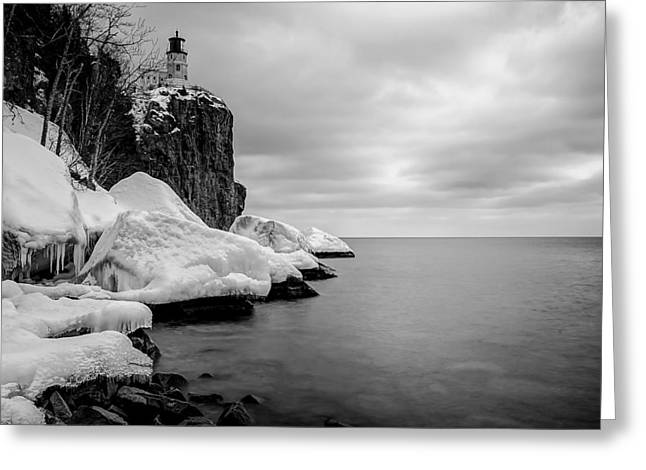Greeting Card featuring the photograph Freezing Beauty by RC Pics
