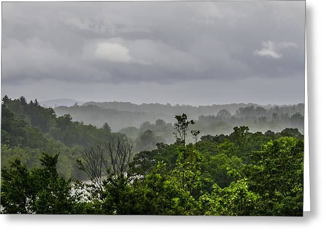 Greeting Card featuring the photograph French Broad River by Carolyn Marshall