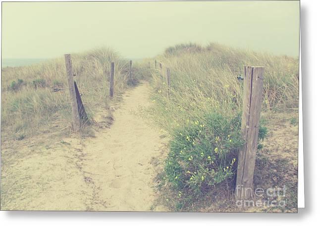French Coast Beach Greeting Card by Svetlana Novikova