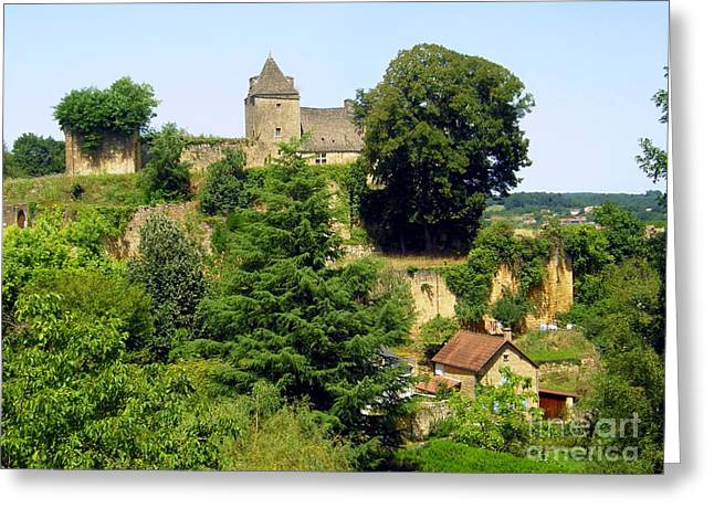 French Countryside Greeting Card by Sophie Vigneault