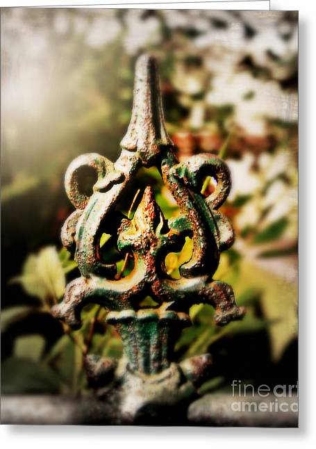 French Detail Greeting Card by Perry Webster