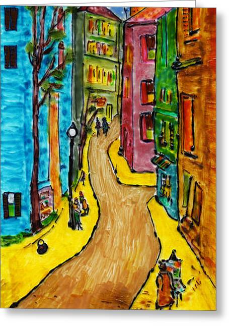 French Dream #2 Greeting Card