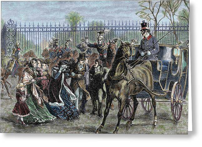 French Liberal Revolution (february 1848 Greeting Card by Prisma Archivo