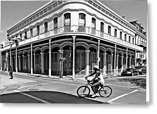 French Quarter Connection Greeting Card