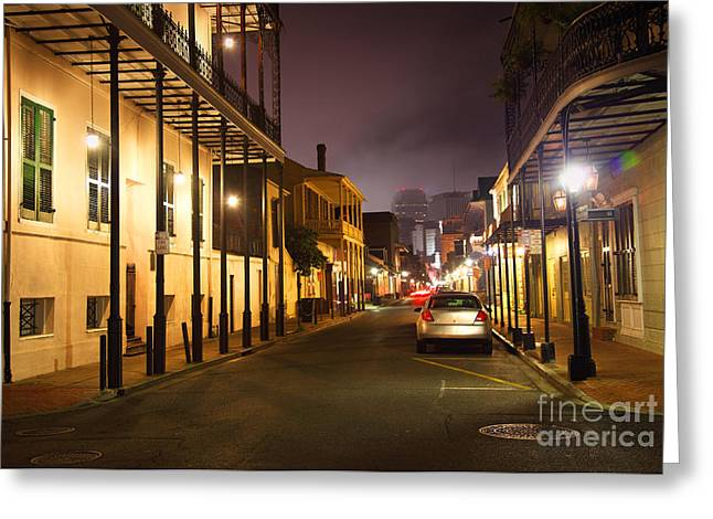 French Quarter Greeting Card by Denis Tangney Jr