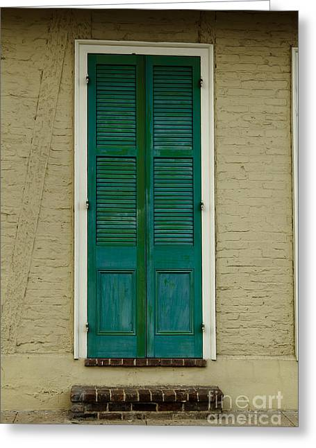 French Quarter Door - 15 Greeting Card by Susie Hoffpauir