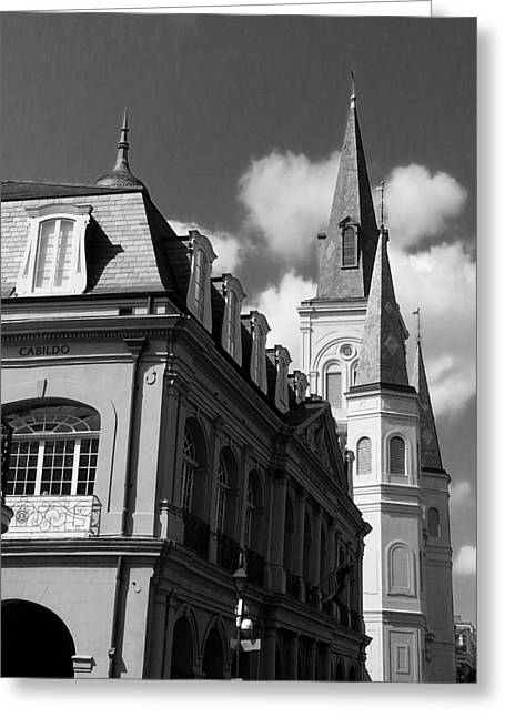 French Quarter - New Orleans Greeting Card by Mike Barch