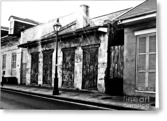 French Quarter Study 1 Greeting Card