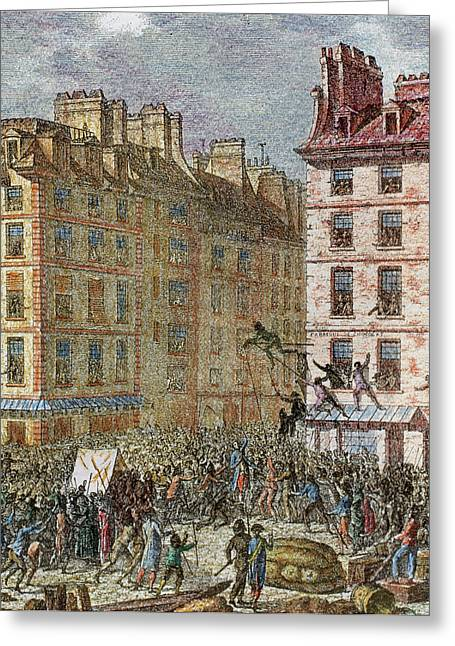 French Revolution (1789-1799 Greeting Card