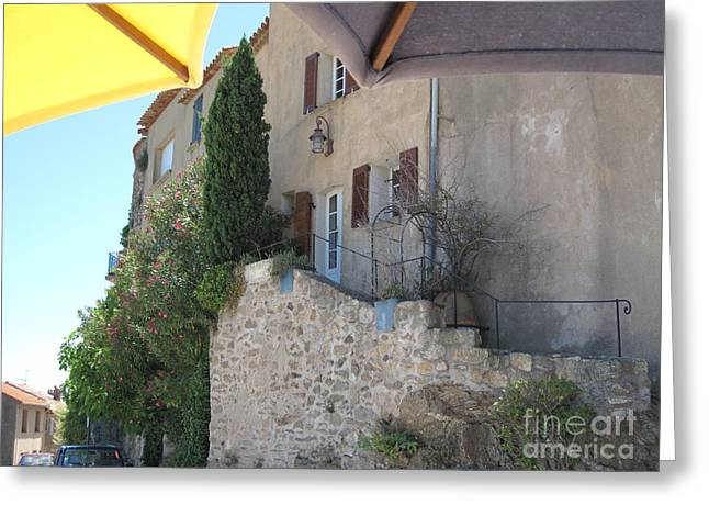French Riviera - Ramatuelle Greeting Card