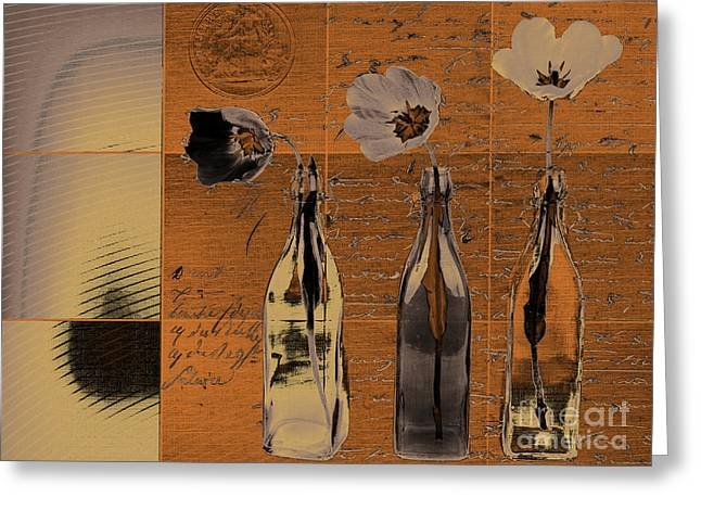 French Still Life  - A60 Greeting Card by Variance Collections