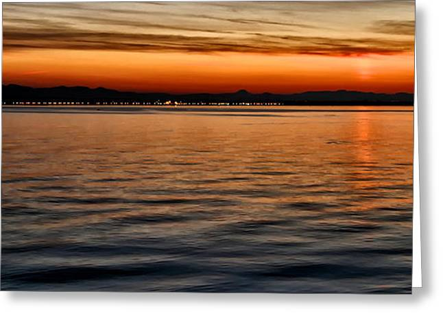 French Sunset Greeting Card by Kate McKenna