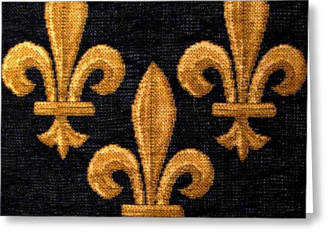 French Tapestry Greeting Card
