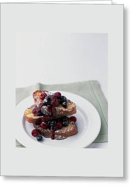 French Toast Greeting Card by Romulo Yanes