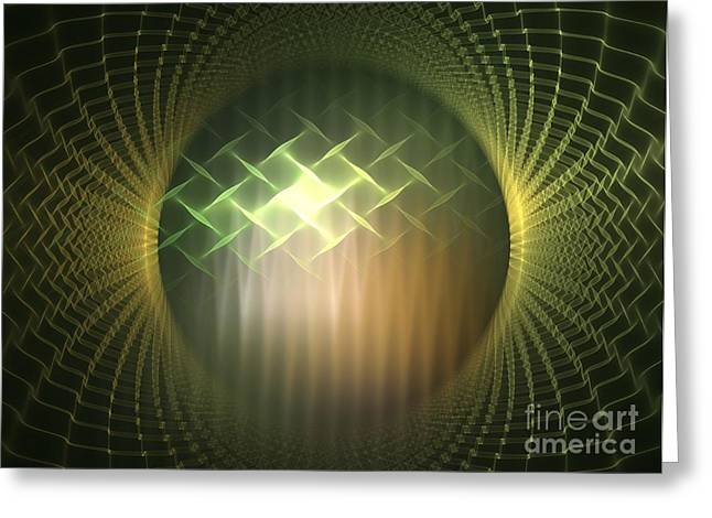 Frequency Modulation Greeting Card by Kim Sy Ok