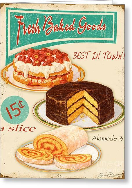 Fresh Baked Good Greeting Card