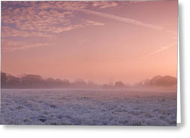 Fresh Cool Morning  Greeting Card by John Chivers