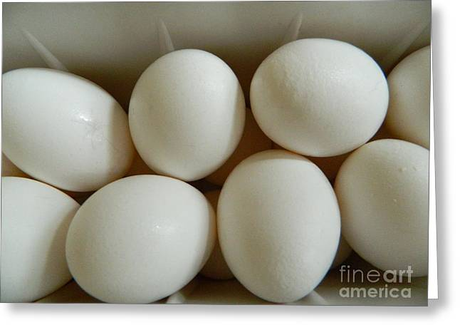 Fresh Eggs Greeting Card by Emmy Marie Vickers