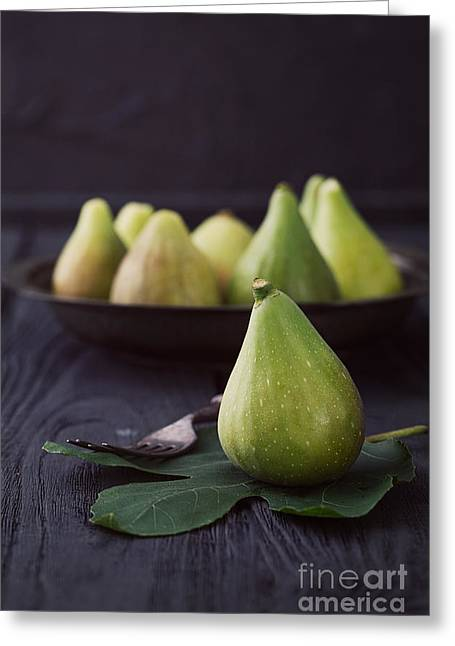Fresh Figs Greeting Card by Mythja  Photography