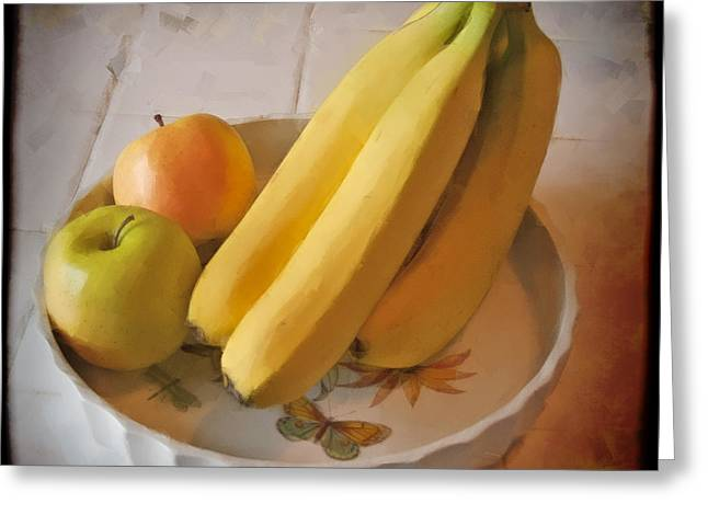 Fresh Fruit Greeting Card by Chuck Staley