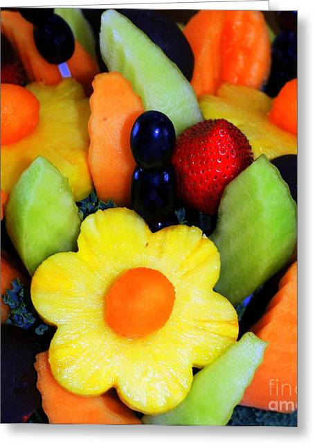 Fresh Fruit Greeting Card by Kathleen Struckle