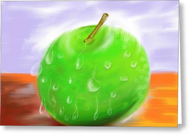 Fresh Fruit Greeting Card by Twinfinger
